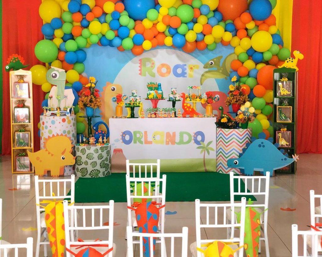 Fiesta De Dinosaurios Para Niños Guía Para Decorar Cumpleaños Infantiles